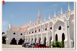Santhome Cathedral Basilica Chennai